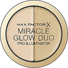 Düfte, Parfümerie und Kosmetik Schimmernder Highlighter Duo - Max Factor Miracle Glow Duo