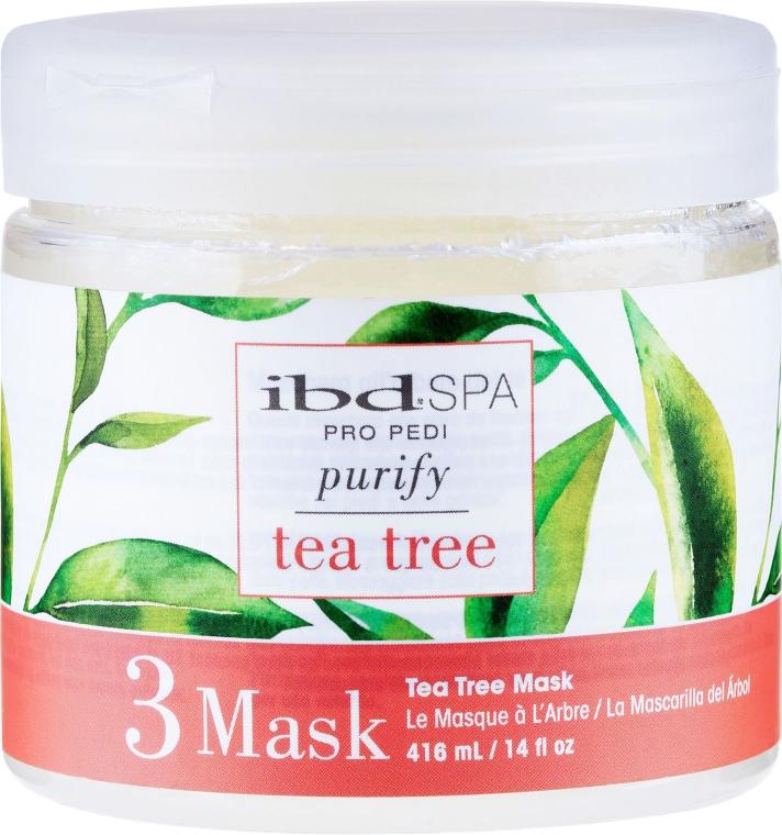 Reinigende und entzündungshemmende Fußmaske mit Teebaumextrakt - IBD Tea Tree Purify Pedi Spa Mask — Bild N1