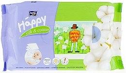 """Düfte, Parfümerie und Kosmetik Feuchttücher """"Seide und Baumwolle"""" - Bella Baby Happy Silk & Cotton"""