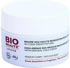 Düfte, Parfümerie und Kosmetik SOS Gesichts- und Körperbalsam mit kalter Creme - Nuxe Bio Beaute High Nutrition SOS Rescue Balm