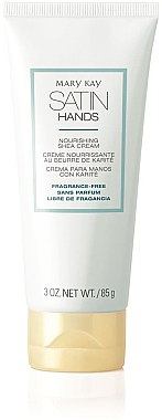 Pflegende Handcreme mit Sheabutter duftfrei - Mary Kay Satin Hands Fragrance-Free Nourishing Shea Cream — Bild N1