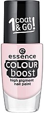 Düfte, Parfümerie und Kosmetik Nagellack - Essence Color Boost High Pigment Nail Paint