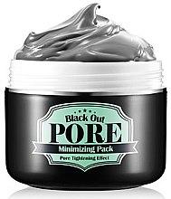 Düfte, Parfümerie und Kosmetik Gesichtsmaske zur Verengung der Poren - Secret Key Black Out Pore Minimizing Pack