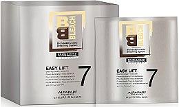 Düfte, Parfümerie und Kosmetik Aufhellpulver für Haare bis zu 7 Tonstufen - Alfaparf BB Bleach Easy Lift 7 Tones