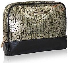 Düfte, Parfümerie und Kosmetik Kosmetiktasche schwarz-gold 4971 - Donegal
