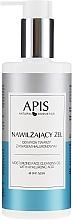 Düfte, Parfümerie und Kosmetik Feuchtigkeitsspendendes Gesichtsreinigungsgel mit Hyaluronsäure - APIS Professional Moisturising Cleansing Gel