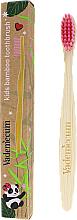 Düfte, Parfümerie und Kosmetik Bambuszahnbürste für Kinder rosa - Vademecum Kids Bamboo Toothbrush