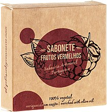 Düfte, Parfümerie und Kosmetik Naturseife Red Fruits - Essencias De Portugal Senses Red Fruits Soap With Olive Oil