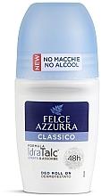 Düfte, Parfümerie und Kosmetik Deo Roll-on Classic - Felce Azzurra Deo Roll-on IdraTalc Classic