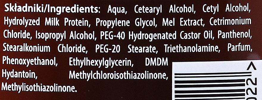 Haarspülung für trockenes und strapaziertes Haar - Joanna Yeast Honey & Milk Proteins Conditioner — Bild N3
