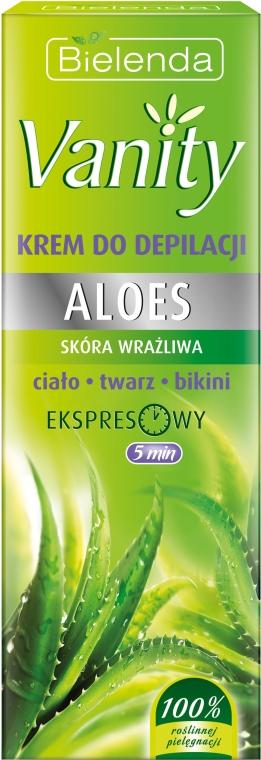 Enthaarungscreme mit Aloe - Bielenda Vanity — Bild N1