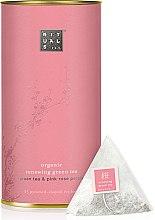 Düfte, Parfümerie und Kosmetik Bio Grüntee mit pinkfarbenen Rosenblätter - The Ritual of Sakura Organic Tea