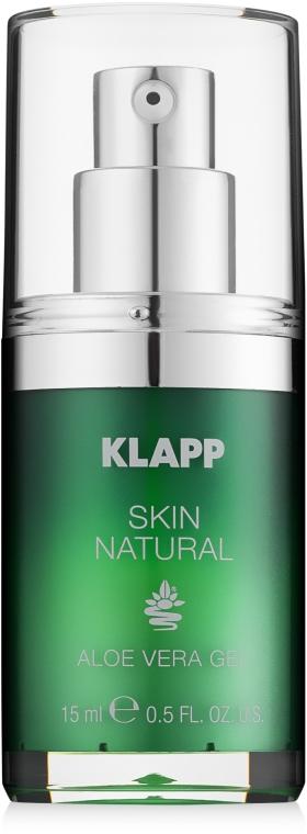 Gesichtspflegeset - Klapp Skin Natural Face Care Set (Gesichtsmaske 50ml + Gesichtsgel 15ml) — Bild N2