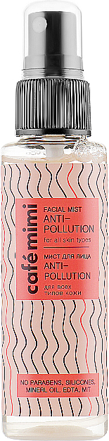 Gesichtsnebel für alle Hauttypen Anti-Pollution - Cafe Mimi Facial Mist — Bild N1