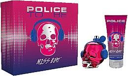Düfte, Parfümerie und Kosmetik Police To Be Miss Beat - Duftset (Eau de Parfum 75ml + Körperlotion 100ml)