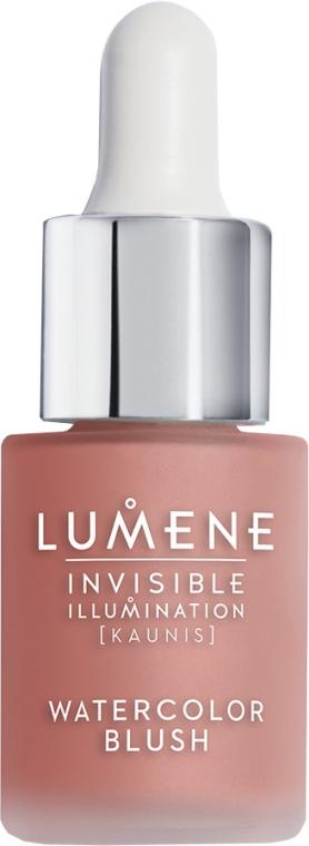 Flüssiges Rouge - Lumene Invisible Illumination Watercolor Blush — Bild N1