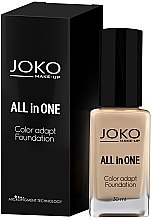 Düfte, Parfümerie und Kosmetik Foundation - Joko All In One Foundation