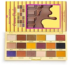 Düfte, Parfümerie und Kosmetik Lidschattenpalette - I Heart Revolution Eyeshadow Chocolate Palette Creme Brulee