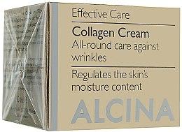 Düfte, Parfümerie und Kosmetik Anti-Aging Gesichtscreme mit Kollagen - Alcina E Collagen Creme