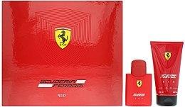 Düfte, Parfümerie und Kosmetik Ferrari Scuderia Ferrari Red - Duftset (Eau de Toilette 75ml + Duschgel 150ml)