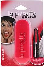 Düfte, Parfümerie und Kosmetik Pinzette schräg mit Spiegel rosa - Beter