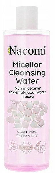 Mizellares Reinigungswasser zum Abschminken - Nacomi Micellar Cleansing Water Marshmallow