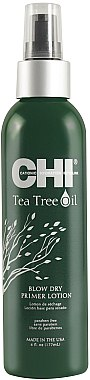 Föhn-Lotion mit Teebaumöl - CHI Tea Tree Oil Blow Dry Primer Lotion — Bild N1