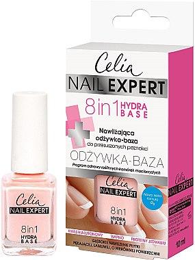 Nagelbalsam 8 in 1 Grund - Celia Nail Expert 8 in 1 — Bild N1