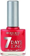 Düfte, Parfümerie und Kosmetik Nagellack - Deborah 7 Days Long