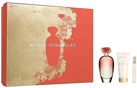 Adolfo Dominguez Unica Coral - Duftset (Eau de Toilette /100ml+Eau de Toilette /10ml+Körperlotion/75ml) — Bild N1