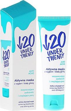Reinigende und Feuchtigkeitsspendende Gesichtsmaske für Problemhaut und Akne - Under Twenty Anti Acne Mask — Bild N2