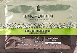 Düfte, Parfümerie und Kosmetik Feuchtigkeitsspendende Haarmaske mit Macadamia- und Arganöl für alle Haartypen - Macadamia Nourishing Moisture Masque (Probe)