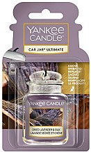 Düfte, Parfümerie und Kosmetik Auto-Lufterfrischer Dried Lavender & Oak - Yankee Candle Car Jar Ultimate Dried Lavender & Oak