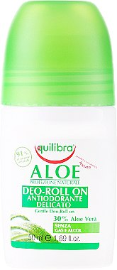 Deo Roll-on Antitranspirant - Equilibra Aloe Deo Aloes Roll-On — Bild N1