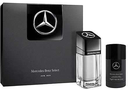 Duftset - Mercedes Benz Select Gift Set (Eau de Toilette 100ml + Deo-Stick 75ml) — Bild N1