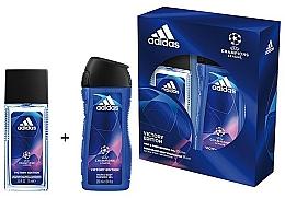 Adidas UEFA Champions League Victory Edition - Duftset (Deodorant-Spray/75ml+Duschgel/250ml) — Bild N2