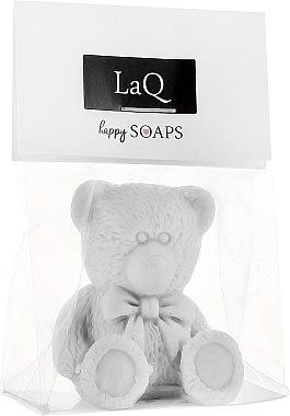 Handgemachte Glycerinseife Teddybär mit Ananasduft - LaQ Happy Soaps Natural Soap — Bild N1