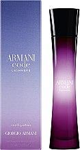 Giorgio Armani Armani Code Cashmere - Eau de Parfum  — Bild N3