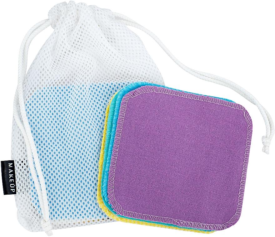 Wiederverwendbare Schwämme zum Abschminken in einem Wäschesack ToFace - Makeup Remover Sponge Set Multicolour & Reusable
