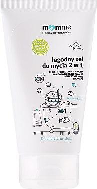 Körperpflegeset - Momme Baby Natural Care Set (Körpermilch 150ml + Duschgel 150ml) — Bild N2