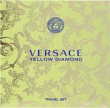 Düfte, Parfümerie und Kosmetik Versace Yellow Diamond - Duftset (Eau de Toilette 90ml + Körperlotion 100ml)