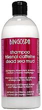 Düfte, Parfümerie und Kosmetik Shampoo gegen Schuppen mit Schlamm aus dem Toten Meer, Trikenol und Koffein - BingoSpa Shampoo With Trikenolem And Caffeine