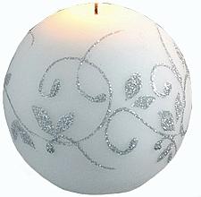 Düfte, Parfümerie und Kosmetik Dekorative Kerze in Kugelform weiß 8 cm - Artman Amelia