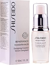 Düfte, Parfümerie und Kosmetik Vitalisierendes Anti-Aginng Gesichtsserum - Shiseido Benefiance WrinkleResist 24 Energizing Essence