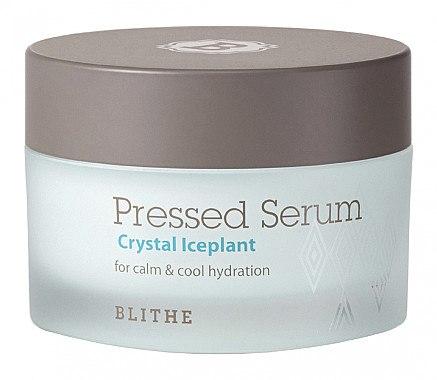 Feuchtigkeitsspendendes Creme-Serum für das Gesicht - Blithe Crystal Iceplant Pressed Serum — Bild N1