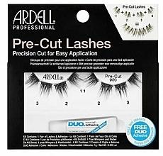 Düfte, Parfümerie und Kosmetik Künstliche Wimpern 900 mit Wimpernkleber - Ardell Pre-Cut Lashes 900