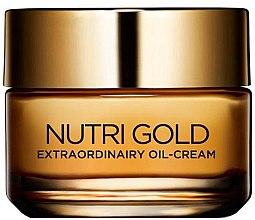 Düfte, Parfümerie und Kosmetik Öl-Creme für das Gesicht - L'Oreal Paris Nutri Gold Extraordinary Oil-Cream