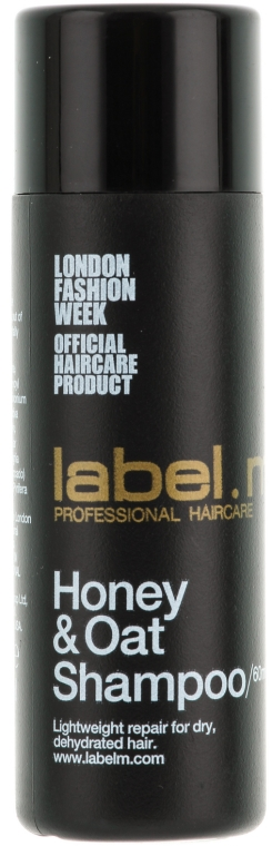 Feuchtigkeitsspendendes Shampoo mit Honig und Hafer - Label.m Cleanse Honey & Oat Shampoo — Bild N1
