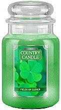 Düfte, Parfümerie und Kosmetik Duftkerze im Glas Fields Of Clover - Country Candle Fields Of Clover