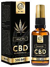 Düfte, Parfümerie und Kosmetik Natürliches Hanföl CBD 500 mg - Dr. T&J Bio Oil